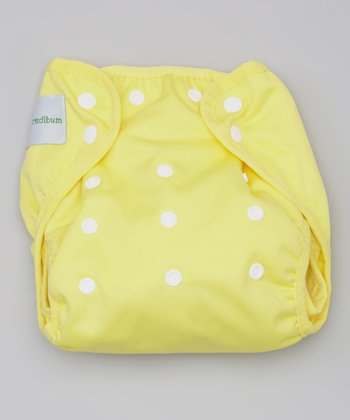 Sunshine Yellow Diaper Cover