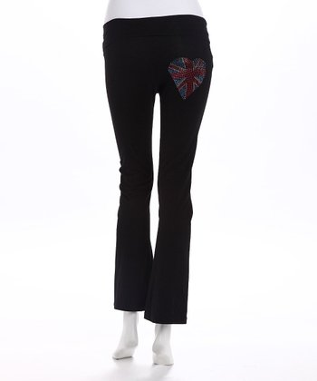 Black London Jack Maternity Yoga Pants