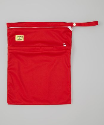 Red Wet Bag