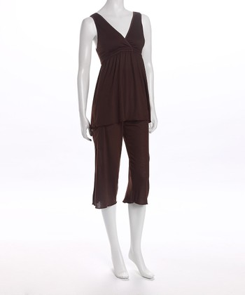 Chocolate Serenity Nursing Pajamas - Women & Plus