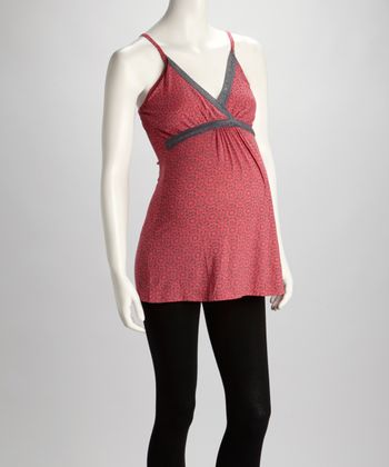 Coral Before & After Maternity & Nursing Camisole - Women