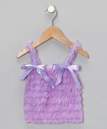 Lavender Ruffle Top - Toddler & Girls