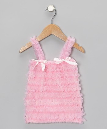 Light Pink Ruffle Top - Toddler & Girls