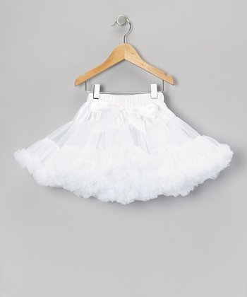 White Pettiskirt - Toddler & Girls