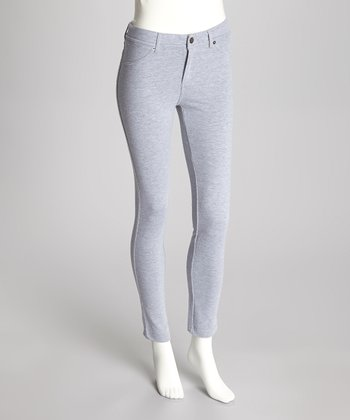 Heather Gray French Terry Leggings
