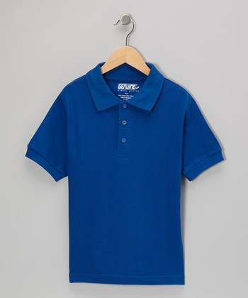 Royal Short-Sleeve Polo - Boys