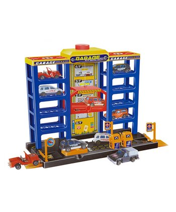 Parking Garage Tower Play Set