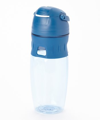 Blue Sports Bottle