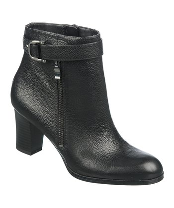 Black Leather Lucille Boot