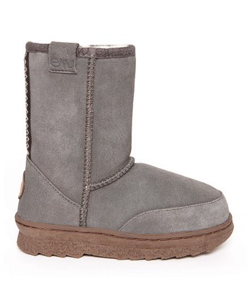 Charcoal Bushranger Lo Boot - Kids