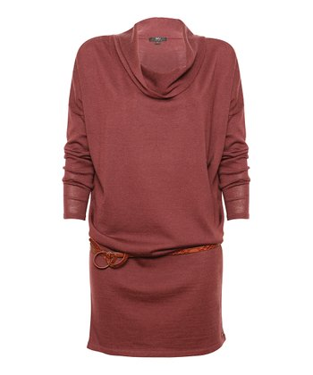 Berry Yarra Glen Merino Wool Sweater Dress - Women