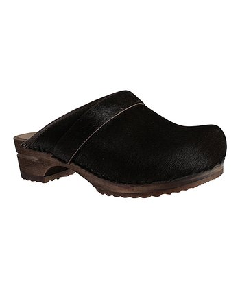 Dark Brown Caroline Clog - Women