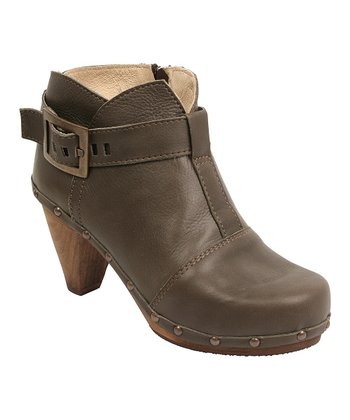 Olive Owl Cone Boot - Women
