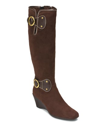 Brown Wonderling Wide Calf Boot