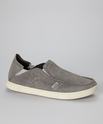 Mid Gray Suede Evo Lite Loafer - Men