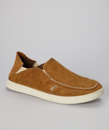 Tan Evo Lite Suede Loafer - Men