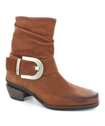 Cognac Tyler Boot - Women