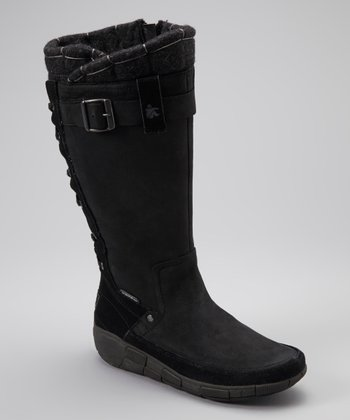 Black Quilty Conscience Boot - Women
