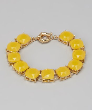 Yellow Translucent Bracelet