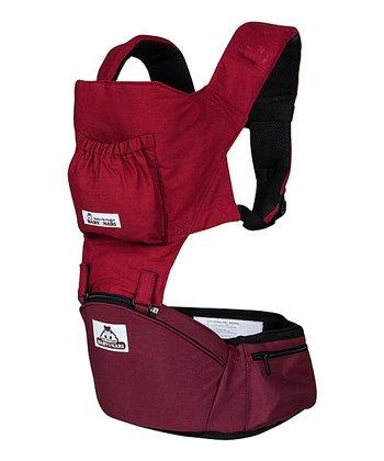 Baby Nari Burgundy Red Baby Hip Hugger Eco & Baby Hip Hugger Eco Plus