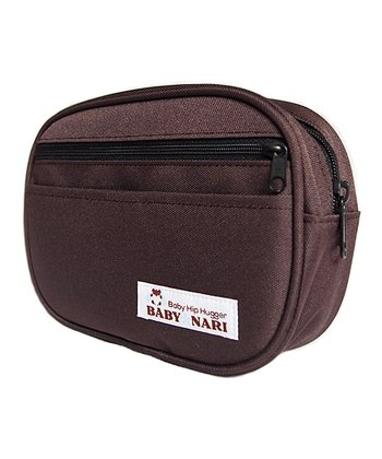 Choco Brown Baby Hip Hugger Pouch