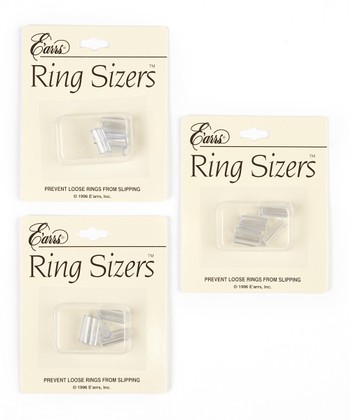 Clear Ring Sizers Set