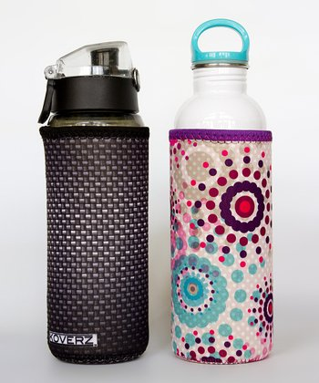 Carbon & Summer Rain Bottle Insulator Set