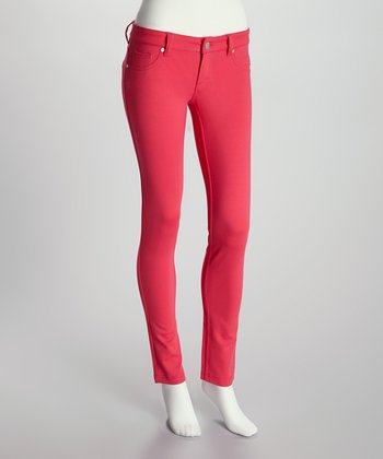 Strawberry Skinny Pants