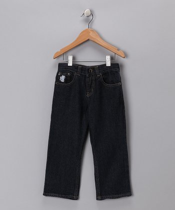 Indigo Organic Straight-Leg Jeans - Infant, Toddler & Boys