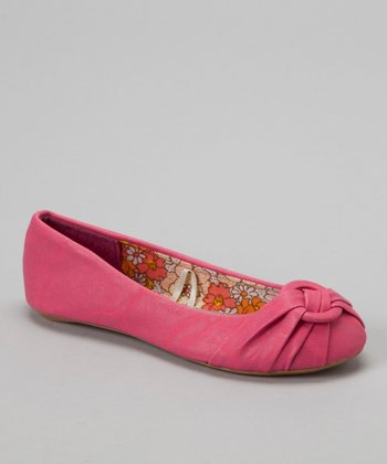 Light Pink Tora Flat