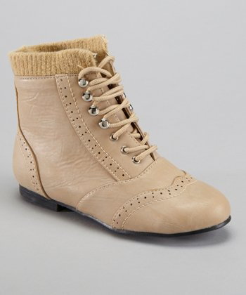 Taupe Lined Boot