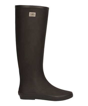 Black Festival Rain Boot -  Women