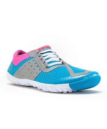 Light Blue & Pink Phase Running Shoe - Women