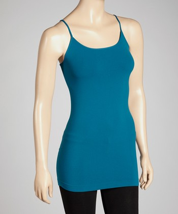 Teal Blue Camisole - Women & Plus