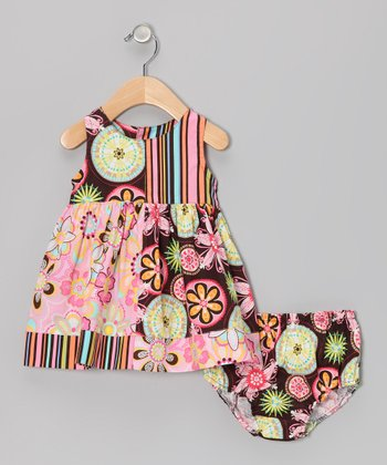 Carnival Bloom Dress & Bloomers - Infant & Toddler