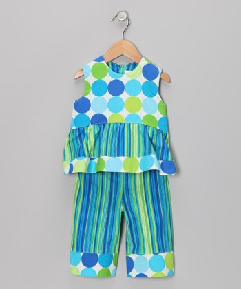 Discolux Tiered Swing Top & Capri Pants - Infant