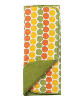 Citrus Dot Reversible Microfiber Drying Mat
