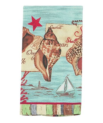 By the Seaside Dish Towel - Set of Two