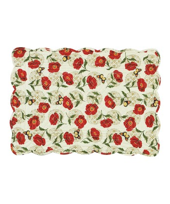 Poppies Place Mat - Set of Four