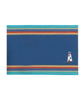 Lighthouse Embroidery Place Mat