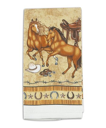 Saddle Up Dish Towel - Set of Two