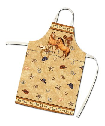 Saddle Up Apron