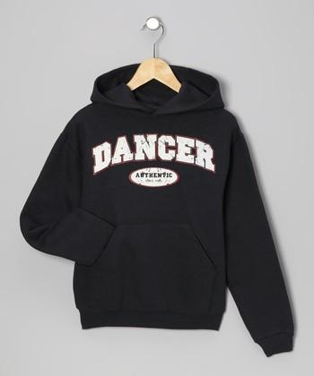 Dance World Bazaar Black 'Dancer' Hoodie - Girls & Women