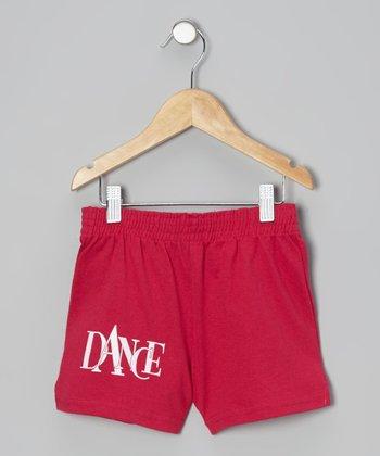 Fuchsia 'Dance' Shorts - Girls & Women
