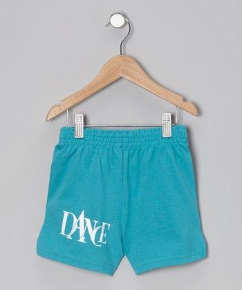 Turquoise 'Dance' Shorts - Girls & Women