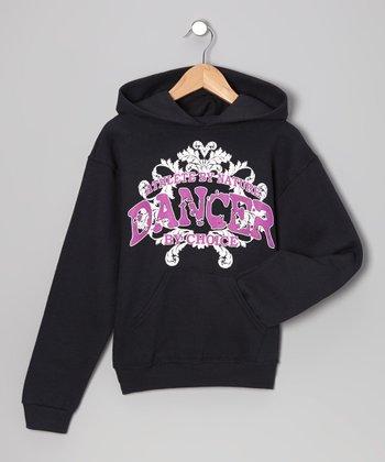 Dance World Bazaar Black 'Dancer by Choice' Hoodie - Girls & Women