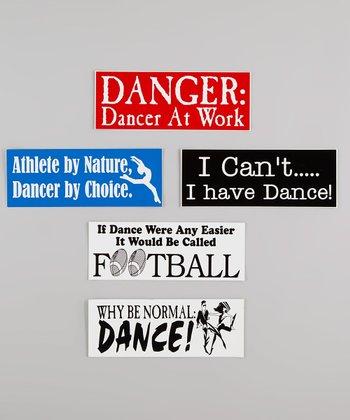 Assorted Dance Bumper Sticker Set