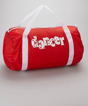 Red Nylon Roll Bag
