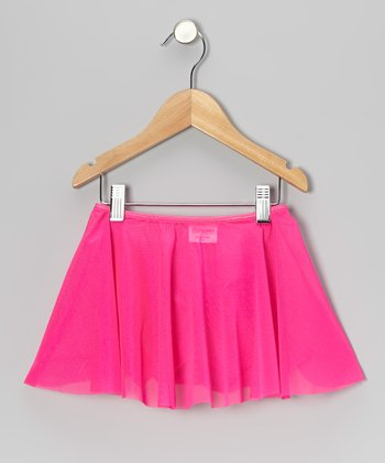 Fuchsia Sheer Skirt - Toddler & Girls