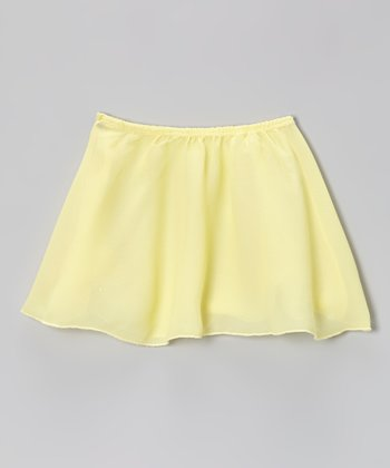 Banana Georgette Skirt - Girls